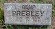 Profile photo:  Gene Presley