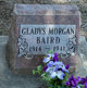 Gladys <I>Morgan</I> Baird