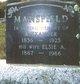 Elsie Ann <I>Beach</I> Mansfield