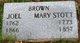Mary <I>Stott</I> Brown