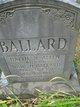 Hattie M <I>Allen</I> Ballard
