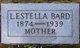 Profile photo:  Lydia Estella <I>Shibley</I> Bard