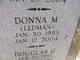 Donna M <I>Ledman</I> Holway