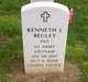 Profile photo: Pvt Kenneth Lee Begley