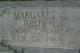 Margaret Henrietta <I>Gordon</I> Brown