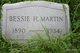Bessie H Martin