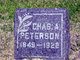 """Charles August """"Charley"""" Peterson"""