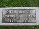 Profile photo:  Anna Ruth <I>Hackedorn</I> Milliken
