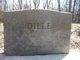 Mary Ann <I>Bates</I> Dille