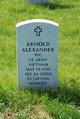 Profile photo:  Arnold Alexander