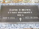 "David Dalton ""Dalton"" Brown"
