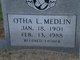Otha Lynwood Medlin