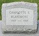 Profile photo:  Charlotte E. Blakemore