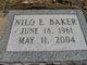 Nilo E Baker