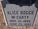 Alice Boggs McCarty