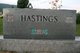 "George Madison ""Tic"" Hastings"
