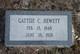 Gattsie Ann <I>Chears</I> Hewett