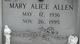 Profile photo:  Mary Alice <I>Matthews</I> Allen