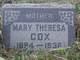 Mary Theresa <I>Johns</I> Cox