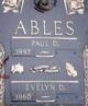 Profile photo:  Paul D Ables