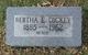 Profile photo:  Bertha Elizabeth <I>Cockrell</I> Dickey