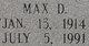 Max Dwayne Behunin