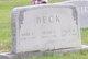 Mary Elizabeth <I>Newton</I> Beck