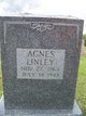 Profile photo:  Agnes <I>Yates</I> Linley