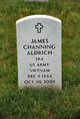 Profile photo:  James Channing Aldrich