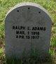 Ralph E Adams