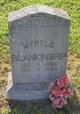 Myrtle Marie <I>Gentry</I> Blankinship
