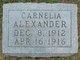 Profile photo:  Carnelia Alexander