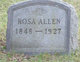 Profile photo:  Rosa Allen