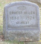 Profile photo:  Ernest Allen