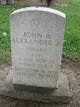 PVT John R Alexander, Jr