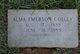 Profile photo:  Alma <I>Emerson</I> Colley
