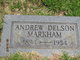 Profile photo:  Andrew Delson Markham