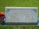 Carrie Emma <I>Connell</I> Maxwell