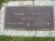 SGT David D Scott