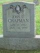 John D Chapman