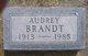 Profile photo:  Audrey Brandt