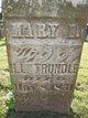 Mary Elizabeth <I>Nichols</I> Trundle