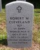 Robert M Cleveland