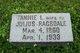"Frances Lou ""Fannie"" <I>Creson</I> Ragsdale"
