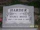 Mabel <I>Boise</I> Harder