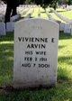 Profile photo:  Vivienne E Arvin