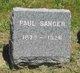 Profile photo:  Paul Sanger