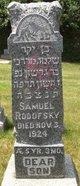 Profile photo:  Samuel Rodofsky