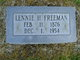 Lennie H. Freeman