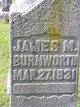 Profile photo:  James Madison Burnworth